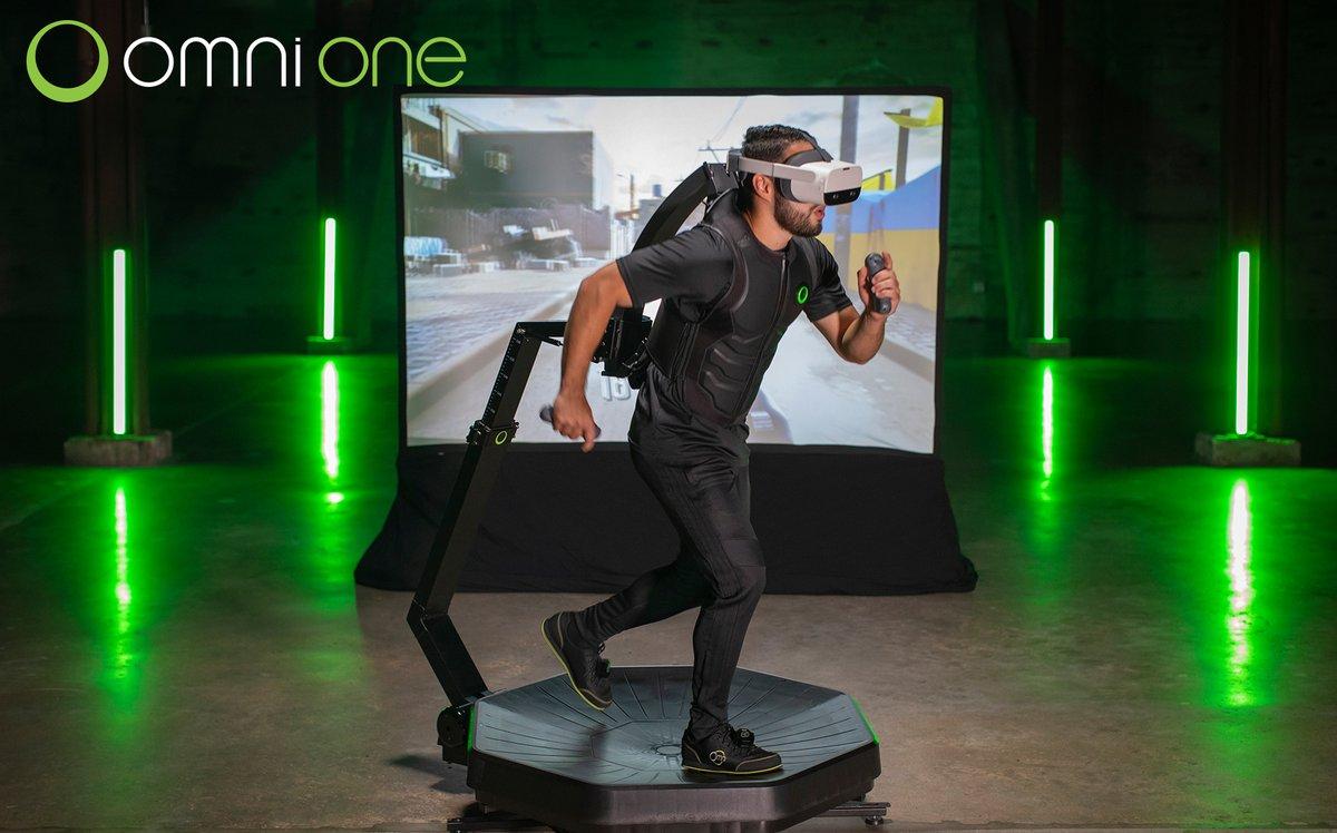VR đã phát triển đến mức độ nào: Chạy bộ để điều khiển nhân vật game, thực tế ảo của Ready Player One là đây chứ đâu! - Ảnh 1.