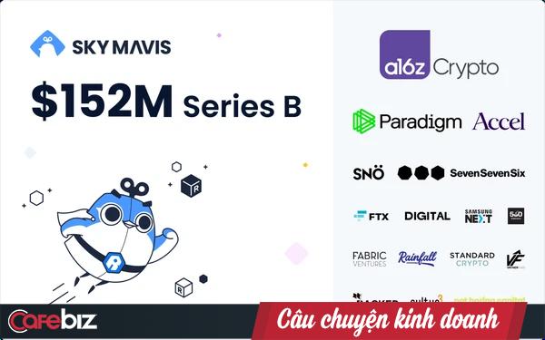 """Startup Sky Mavis sở hữu tựa game hot Axie Infinity vừa gọi thành công 152 triệu USD vòng Serie B, định giá công ty được """"đồn đoán"""" lên tới 3 tỷ USD - Ảnh 1."""