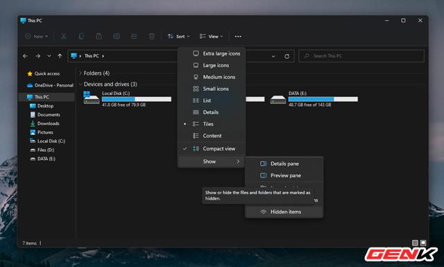 Vài cài đặt cá nhân với Windows 11 giúp bạn thao tác tay dễ dàng hơn (Phần 2) - Ảnh 10.