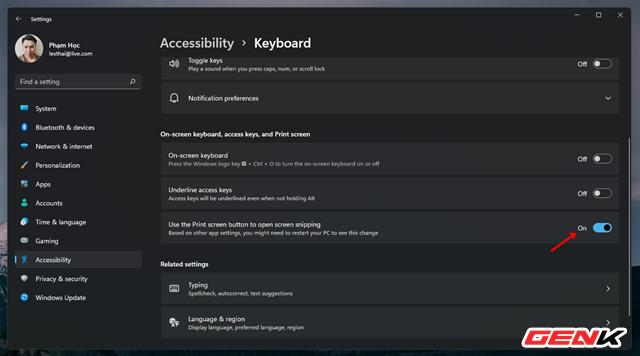 Vài cài đặt cá nhân với Windows 11 giúp bạn thao tác tay dễ dàng hơn (Phần 2) - Ảnh 12.