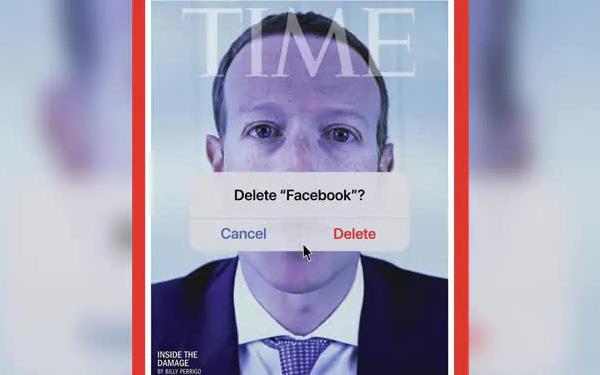 Bìa tạp chí gây sốc của TIME: Hình Mark Zuckerberg đi kèm với câu hỏi Bạn có muốn xoá Facebook không? - Ảnh 1.