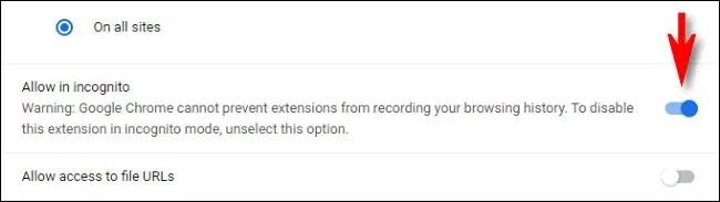Hướng dẫn bật extension cho Chrome khi đang dùng chế độ ẩn danh - Ảnh 4.