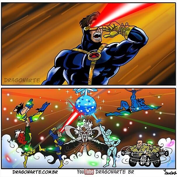 [Chùm tranh vui] Hóa ra khi không truy bắt tội phạm, các siêu anh hùng cũng xàm xí và lầy lội thế này đây - Ảnh 10.