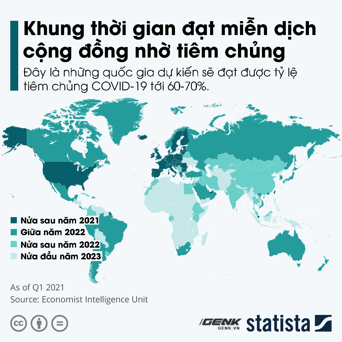 5 charts, an overall picture of COVID-19 vaccine in the world: Where is Vietnam located?  Photo 5.