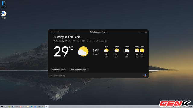 Với cách làm này, bạn có thể mang trợ lý Google Assistant lên máy tính mà không cần phải sở hữu một chiếc smartphone Android - Ảnh 1.