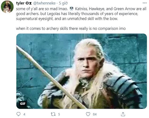 Internet tranh cãi nảy lửa xem ai mới là cung thủ giỏi nhất: Legolas, Hawkeye hay Green Arrow? - Ảnh 3.