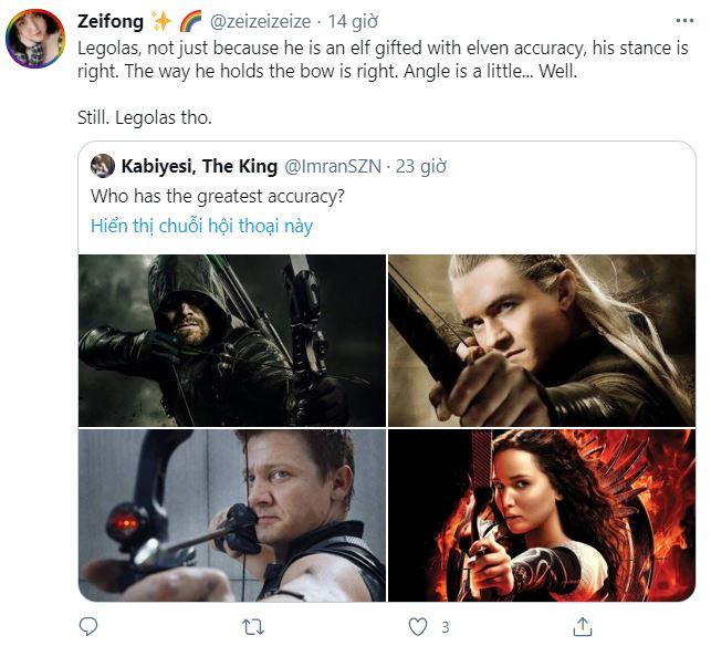 Internet tranh cãi nảy lửa xem ai mới là cung thủ giỏi nhất: Legolas, Hawkeye hay Green Arrow? - Ảnh 5.