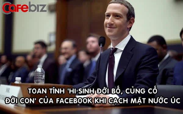 Toan tính trăm triệu 'đô' của Facebook khi 'cạch mặt' nước Úc: Chấp nhận tẩy chay nhưng được lòng giới đầu tư, cuối cùng vẫn là kẻ hưởng lợi - Ảnh 1.