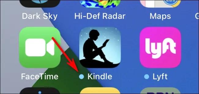 Dấu chấm xanh dương thường thấy trên Home Screen của iPhone và iPad có ý nghĩa gì? - Ảnh 1.