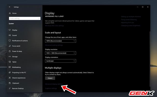 Cách thiết lập tần số quét tối đa của màn hình máy tính trên Windows 10 - Ảnh 6.