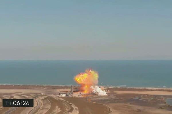 Tàu vũ trụ SpaceX lại phát nổ trong thử nghiệm mới nhất chuẩn bị cho hành trình lên sao Hỏa - Ảnh 2.