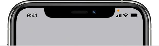 Vì sao iPhone bỗng dưng xuất hiện hai chấm màu xanh, cam? - Ảnh 3.