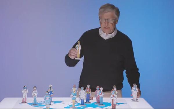Chào hàng ý tưởng mới, tỉ phú Bill Gates bị thuyết âm mưu vùi dập - Ảnh 1.