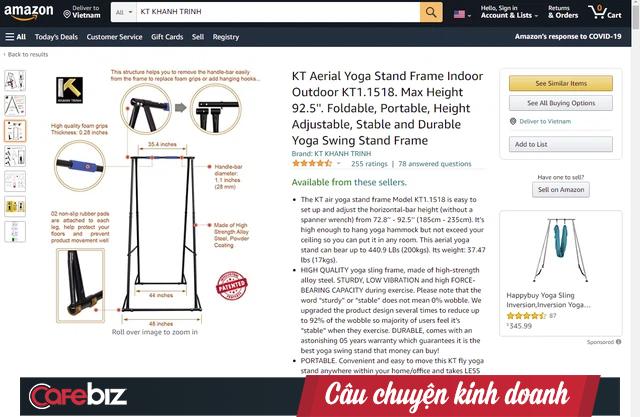 """Cú lội ngược dòng của startup từng bị các Shark Việt Nam chê """"ngáo giá"""", sản phẩm chỉ là """"mấy thanh sắt"""": Tuyên bố được """"cá mập"""" Mỹ hỗ trợ, nhận hàng trăm đánh giá 5 sao trên Amazon - Ảnh 3."""
