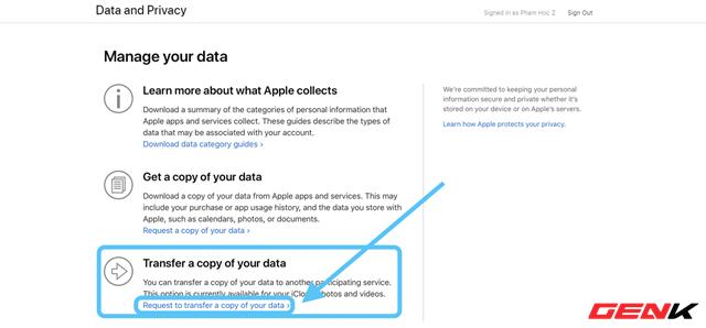 Cách sử dụng dịch vụ chuyển ảnh từ iCloud Photos sang Google Photos của Apple - Ảnh 5.