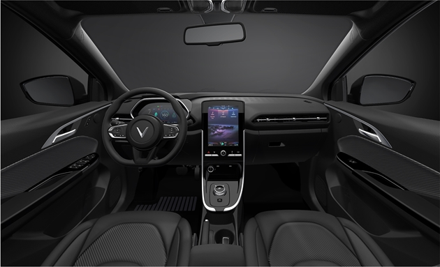 Hé lộ thiết kế ô tô mới của Vinfast: SUV cỡ đại có 2 bản điện và xăng, hệ thống trợ lái thông minh, chạy quãng đường 500 km/lần sạc? - Ảnh 4.