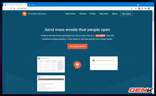 Cách gửi email hàng loạt trong Gmail từ Google Sheets - Ảnh 2.