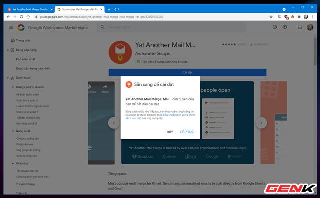 Cách gửi email hàng loạt trong Gmail từ Google Sheets - Ảnh 4.