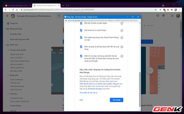 Cách gửi email hàng loạt trong Gmail từ Google Sheets - Ảnh 5.
