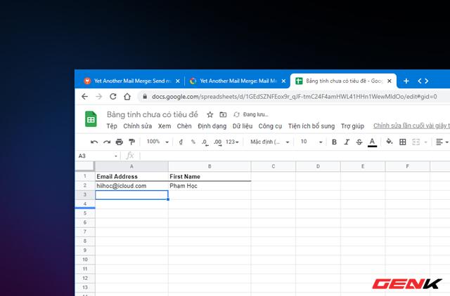 Cách gửi email hàng loạt trong Gmail từ Google Sheets - Ảnh 8.