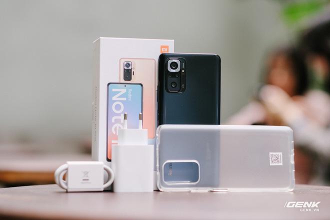 Trên tay Redmi Note 10 và Redmi Note 10 Pro chính hãng: Đã có màn hình AMOLED 120Hz, Snapdragon 678/732G, giá từ 4.7 triệu - Ảnh 2.
