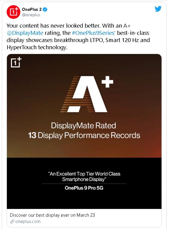 Màn hình của OnePlus 9 Pro có thể giảm tần số xuống 1Hz - Ảnh 2.