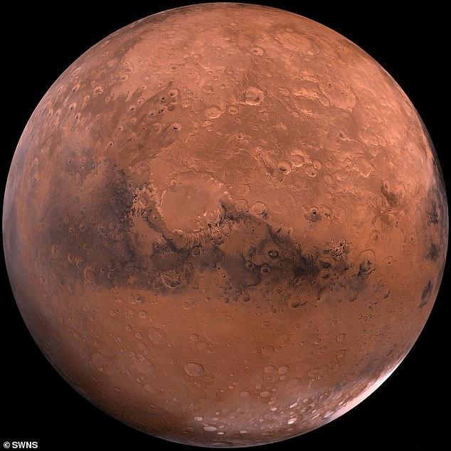 Các nhà khoa học cho biết nước trên Sao Hỏa có thể không biến mất, nó chỉ bị ẩn dưới lớp đá trên bề mặt - Ảnh 1.
