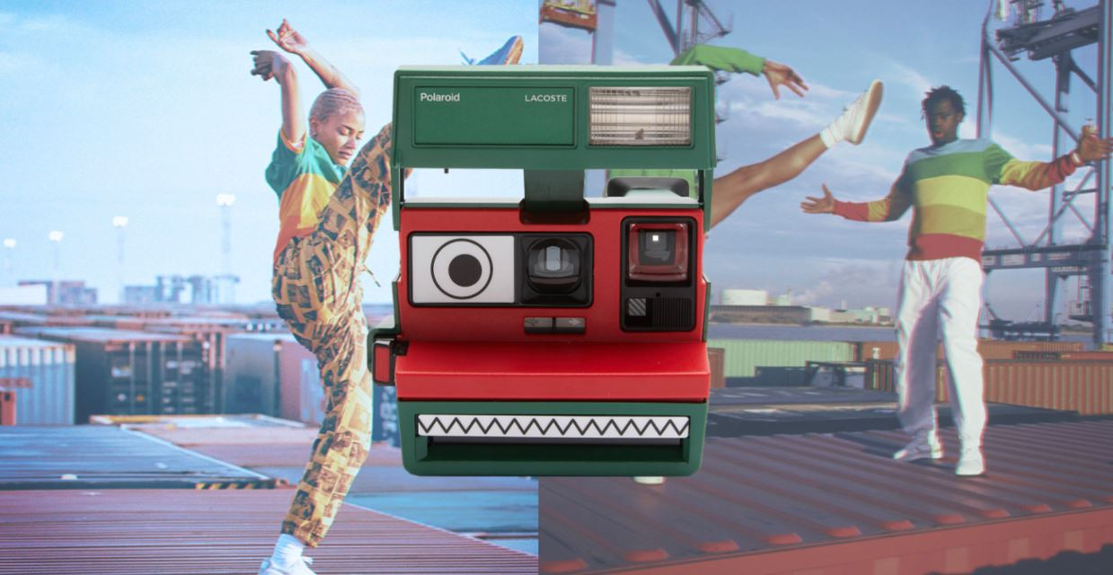 Polaroid hợp tác cùng Lacoste ra mắt bộ sưu tập quần áo và máy ảnh cực độc đáo - Ảnh 1.