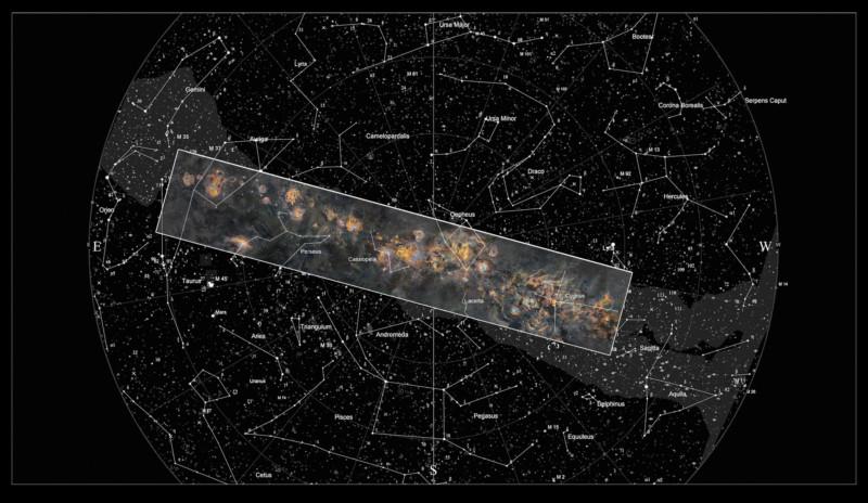 Đây là bức ảnh chụp dải Ngân Hà siêu to khổng lồ, tốn 12 năm thực hiện, 1250 giờ phơi sáng mới hoàn thành - Ảnh 2.