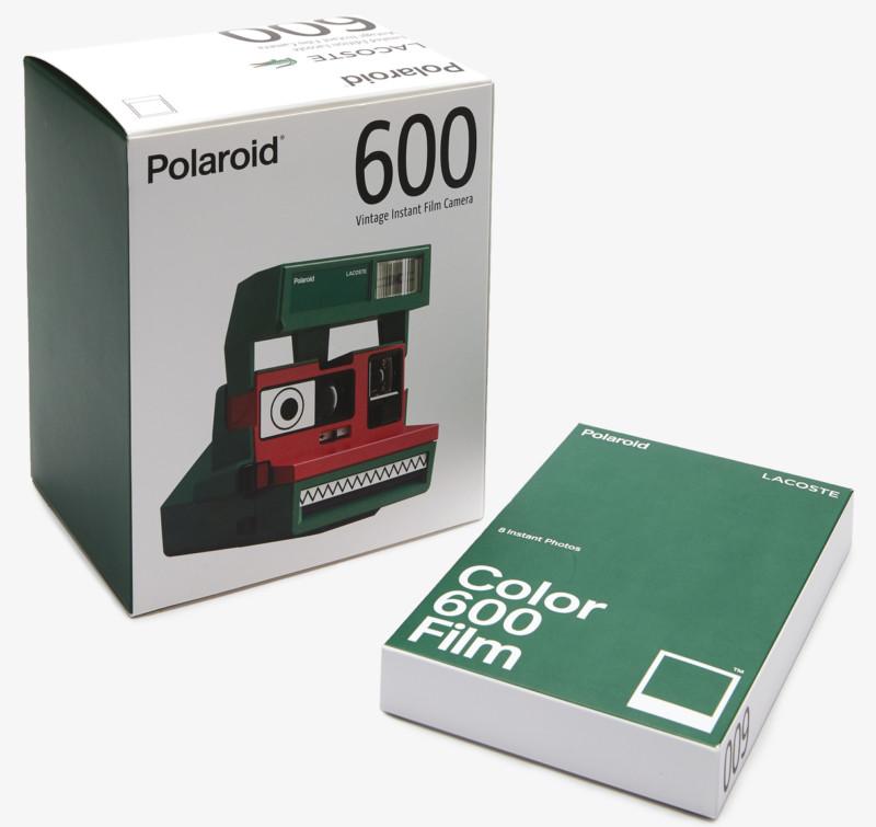 Polaroid hợp tác cùng Lacoste ra mắt bộ sưu tập quần áo và máy ảnh cực độc đáo - Ảnh 4.