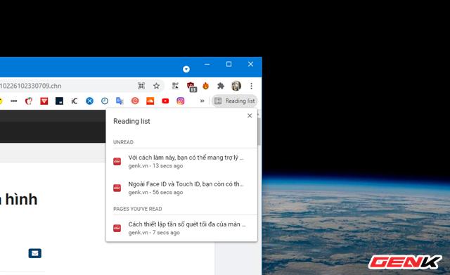 """Google bổ sung tính năng """"Tạo danh sách đọc"""" cho Chrome, linh hoạt hơn bookmark nhiều lần - Ảnh 6."""