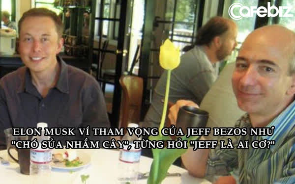 Bức ảnh định mệnh cách đây 17 năm: Jeff Bezos và Elon Musk thời còn tình thân mến thân trên bàn tiệc - Ảnh 1.