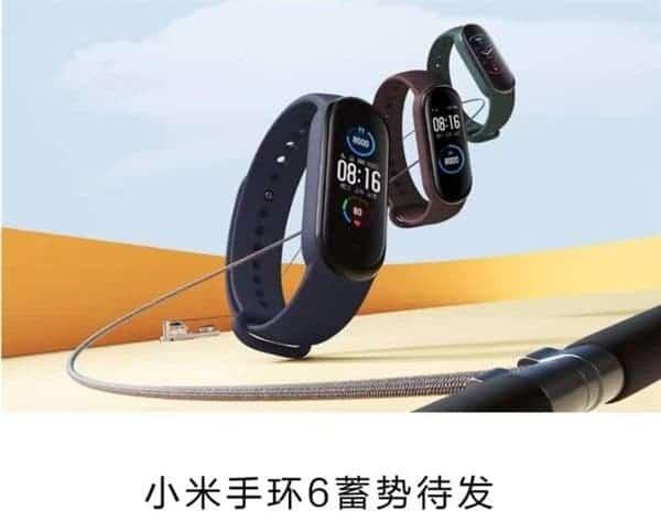 Xiaomi Mi Band 6 sẽ cảm biến đo nồng độ oxy, GPS, hỗ trợ WhatsApp và Telegram, ra mắt vào ngày 29 tháng 3 - Ảnh 2.