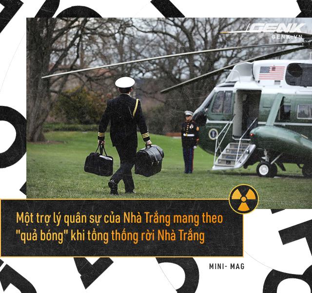 Giải mã bí ẩn về quả bóng hạt nhân - Chiếc cặp theo chân các Tổng thống Mỹ đến bất cứ nơi đâu - Ảnh 2.