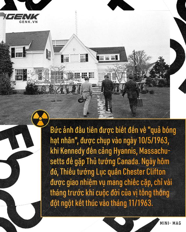 Giải mã bí ẩn về quả bóng hạt nhân - Chiếc cặp theo chân các Tổng thống Mỹ đến bất cứ nơi đâu - Ảnh 3.