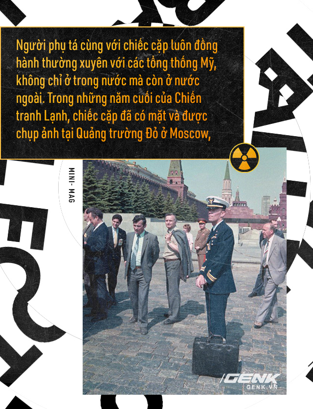 Giải mã bí ẩn về quả bóng hạt nhân - Chiếc cặp theo chân các Tổng thống Mỹ đến bất cứ nơi đâu - Ảnh 5.