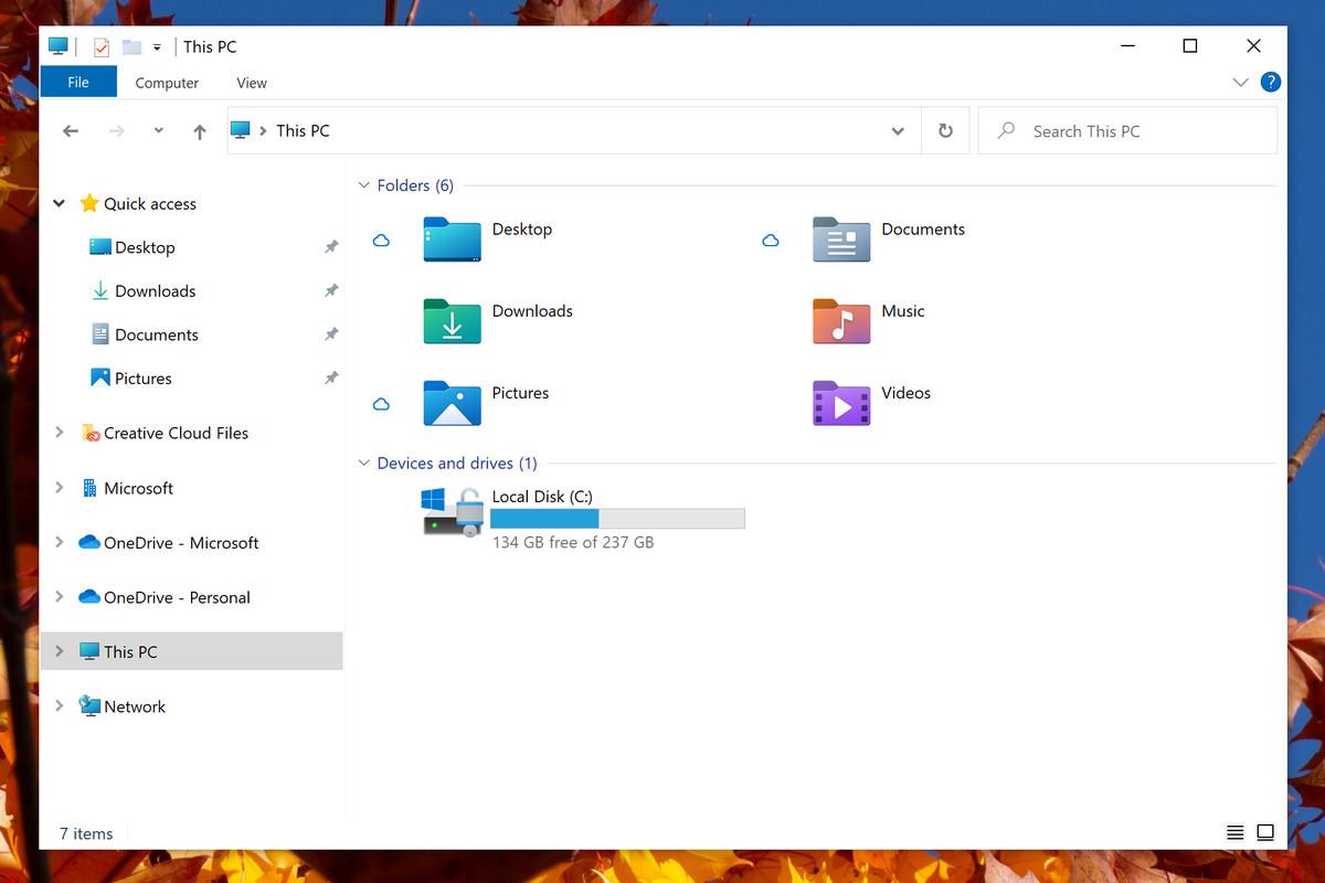 Windows 10 cập nhật các icon File Explorer mới, bắt đầu một cuộc đại tu thiết kế - Ảnh 1.