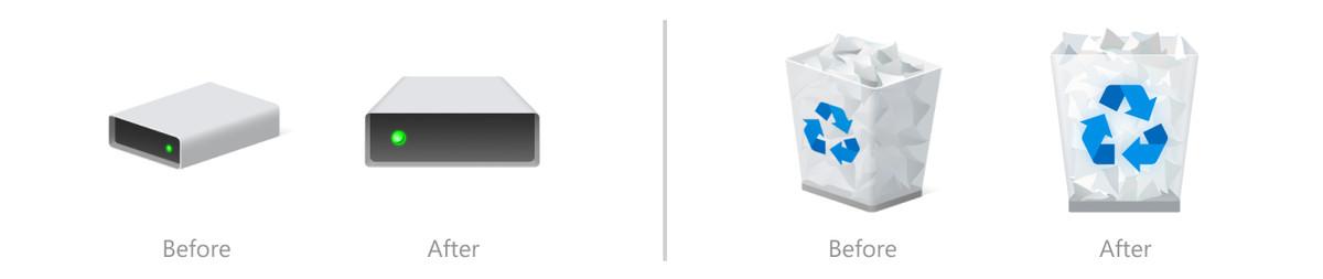 Windows 10 cập nhật các icon File Explorer mới, bắt đầu một cuộc đại tu thiết kế - Ảnh 2.
