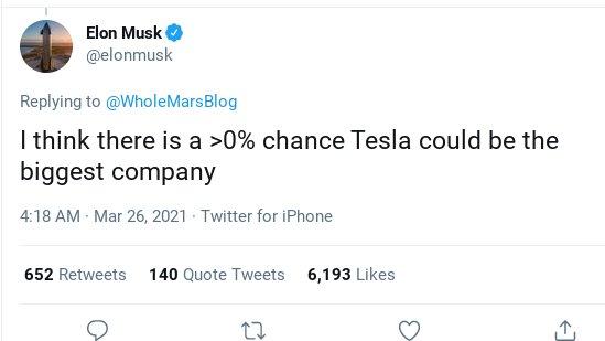 Elon Musk tuyên bố: Tesla sẽ vượt mặt Apple trong vài tháng tới - Ảnh 1.