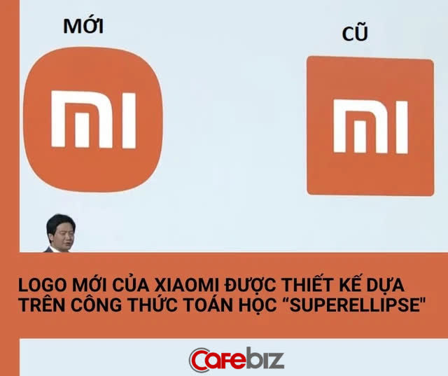 Nghe CEO Lei Jun giải thích mới thấy logo mới của Xiaomi 'chất tới từng xu': Sử dụng công thức toán học 'siêu hình elip', đạt tới sự cân bằng hoàn hảo - Ảnh 3.