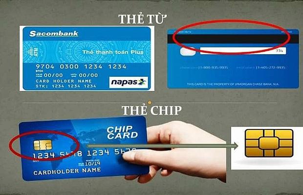 Hôm nay ngừng phát hành thẻ ATM cũ, đây là những điều cần biết về thẻ ATM gắn chip mới - Ảnh 2.