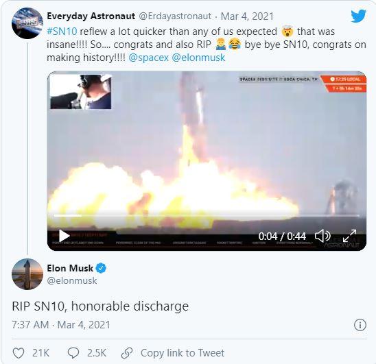 Starship của SpaceX lần đầu tiên hạ cánh thẳng đứng thành công, rồi phát nổ - Ảnh 4.