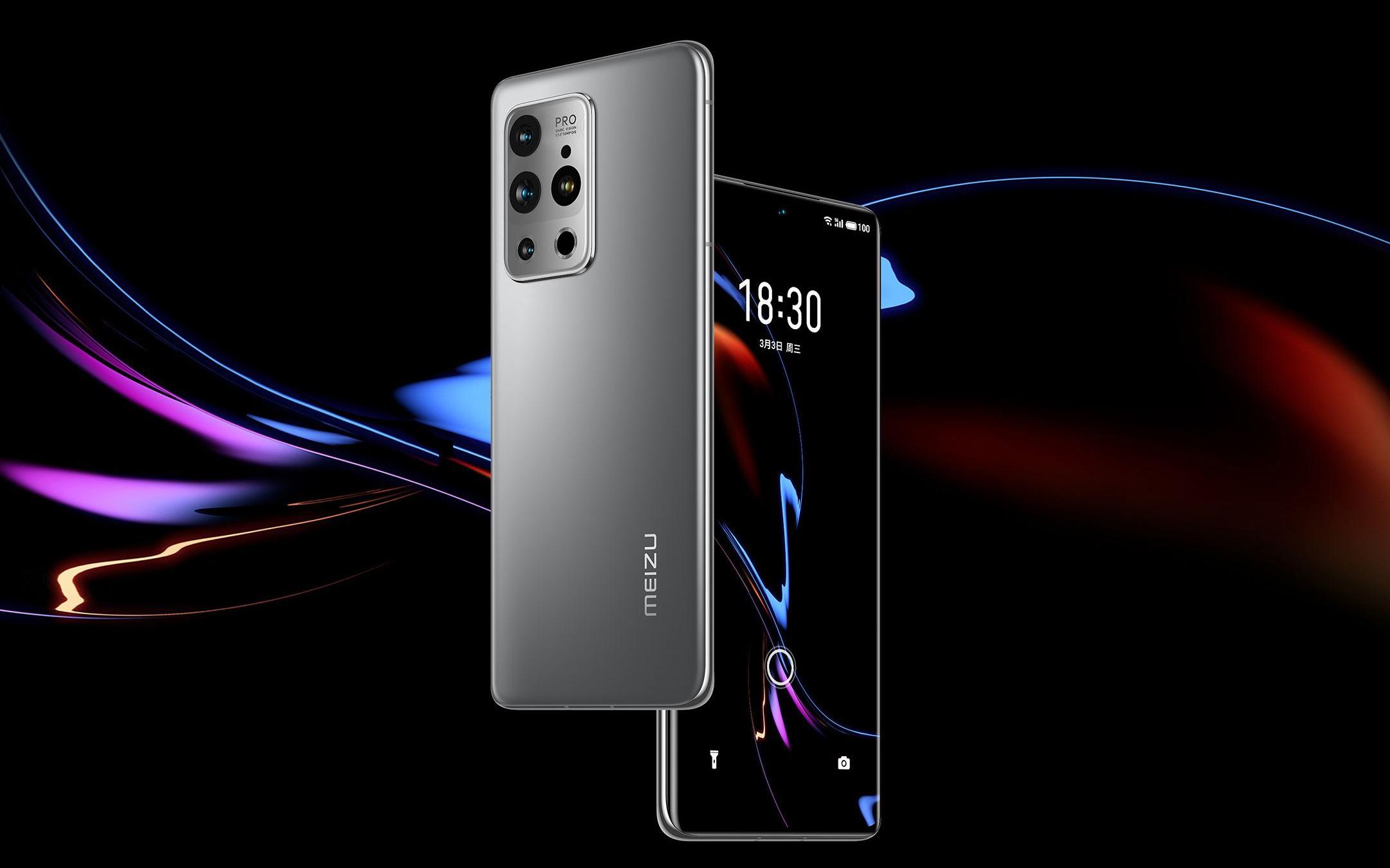 Meizu 18 và 18 Pro ra mắt: Màn hình cong 120Hz, Snapdragon 888, camera cao cấp, giá từ 15.7 triệu đồng