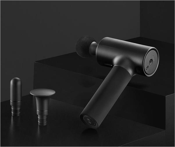 Xiaomi ra mắt súng massage MIJIA Faschia: Động cơ mạnh mẽ, độ ồn thấp, pin trâu, 3 đầu massage, giá 77 USD - Ảnh 1.