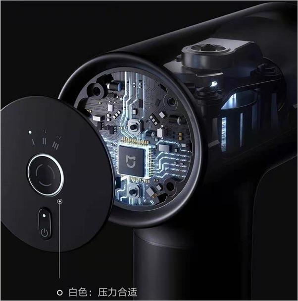 Xiaomi ra mắt súng massage MIJIA Faschia: Động cơ mạnh mẽ, độ ồn thấp, pin trâu, 3 đầu massage, giá 77 USD - Ảnh 3.