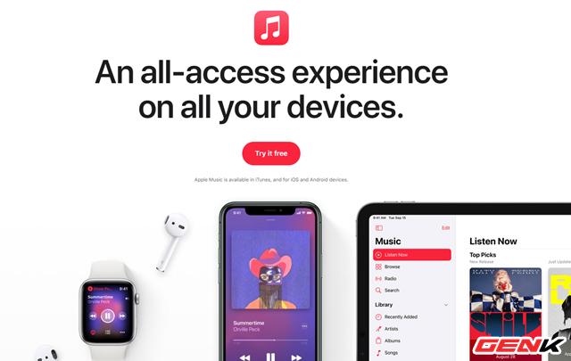 Cách đăng ký nhận 3 tháng dùng thử miễn phí Apple Music trên iPhone - Ảnh 1.