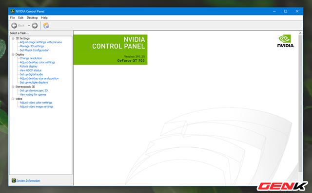 """Nguyên nhân và cách khắc phục hiện tượng """"xé hình"""" trên màn hình của Windows 10 - Ảnh 4."""