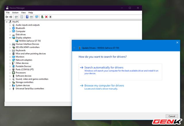"""Nguyên nhân và cách khắc phục hiện tượng """"xé hình"""" trên màn hình của Windows 10 - Ảnh 9."""