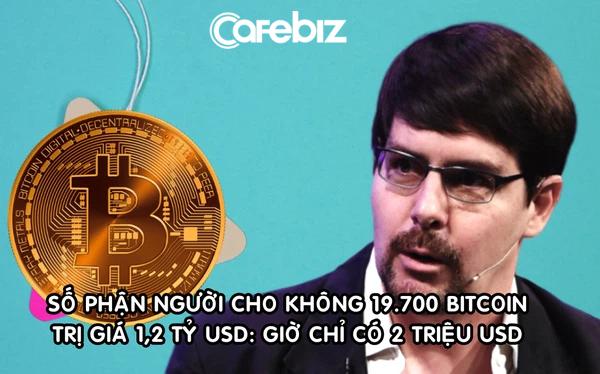 Cuộc sống hiện tại bất ngờ của người từng 'cho không' 19.700 Bitcoin trị giá 1,2 tỷ USD - Ảnh 1.