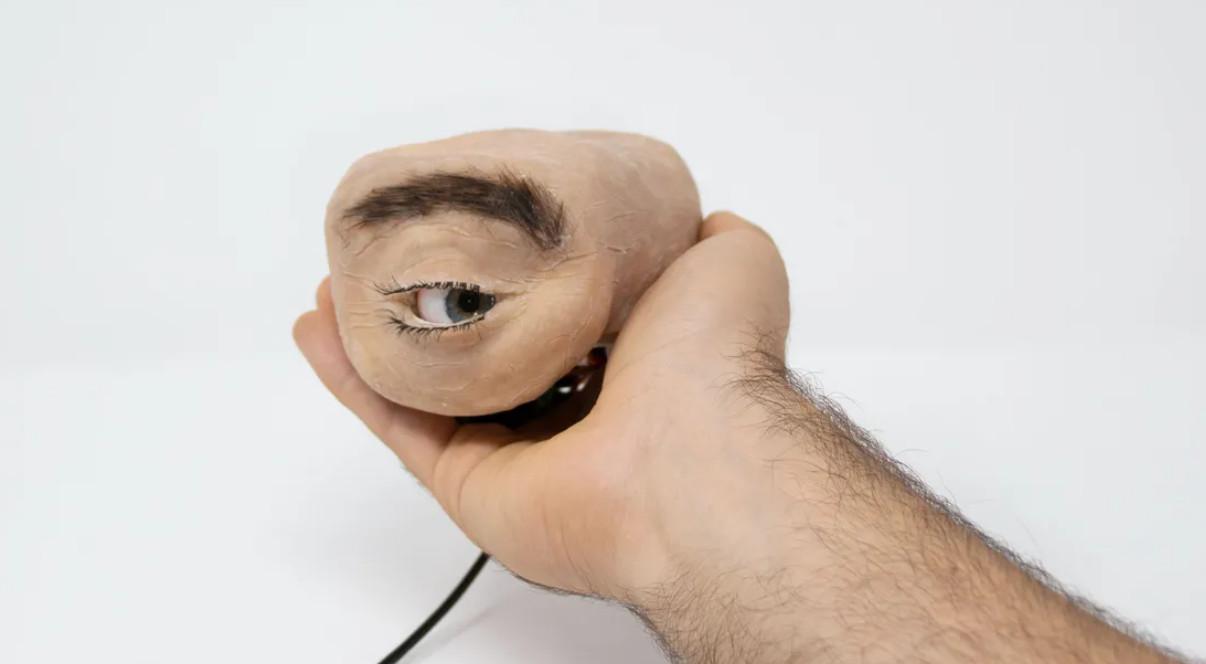 Nhìn chiếc webcam như thể mắt người này, bạn sẽ không khỏi giật mình thon thót mỗi khi nó liếc nhìn bạn - Ảnh 4.